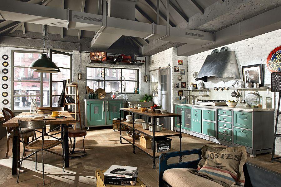 Style industriel dans votre intérieur