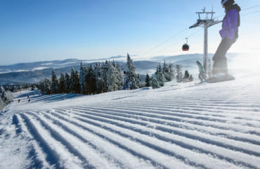 Piste de ski au Canada