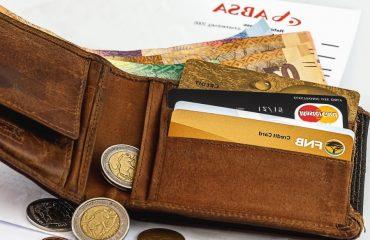 portefeuille cartes monnaies